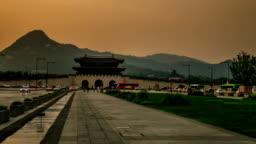Gyeongbokgung Palace Hyperlapse