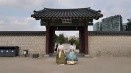 Gyeongbokgung palace Seoul, South Korea