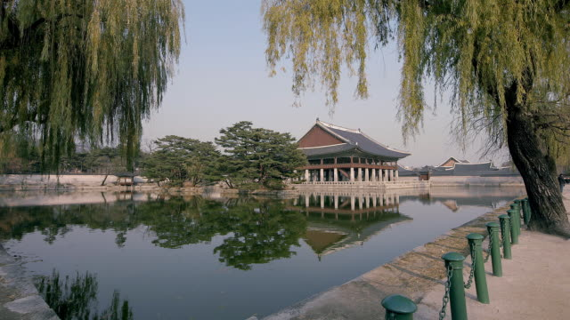 Gyeonghoeru pavilion (National Treasures of South Korea 224) in Gyeongbokgung