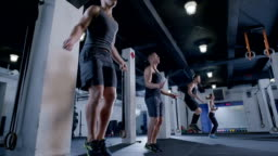 gym jump rope warm up