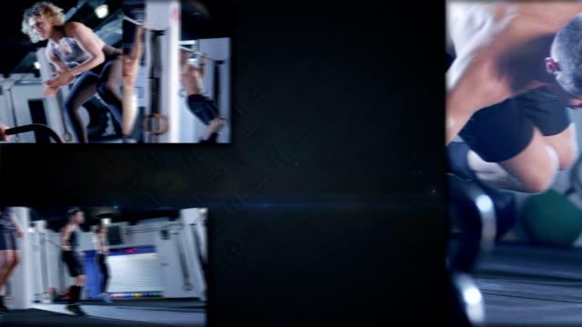 Crossfit split screen