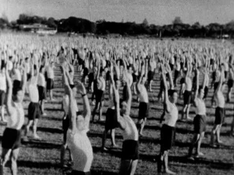 Gymnastics and military exercises