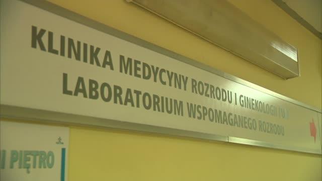 vídeos y material grabado en eventos de stock de gynecology and reproductive medicine clinic - inseminación artificial