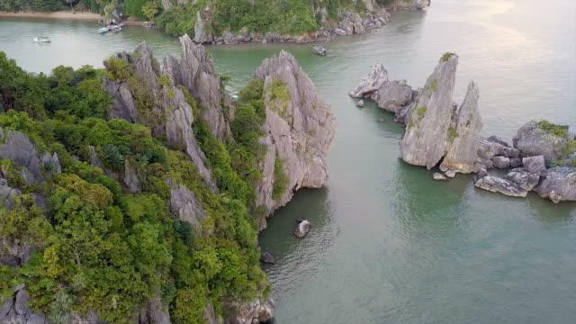ha tien beach - mekong delta stock videos & royalty-free footage