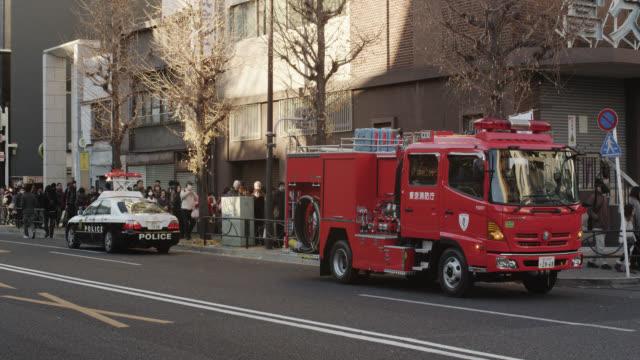 hachimode at kanda-myojin shrine - 消防車点の映像素材/bロール