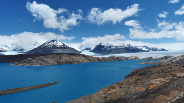 hacienda christina glacier lake - argentina stock videos & royalty-free footage