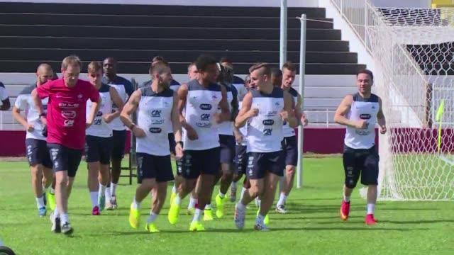 Haciendo caso omiso de desilusiones pasadas Francia se prepara para su proximo encuentro contra Alemania sin complejos de inferioridad