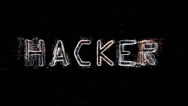 hacker text formation - single word stock videos & royalty-free footage