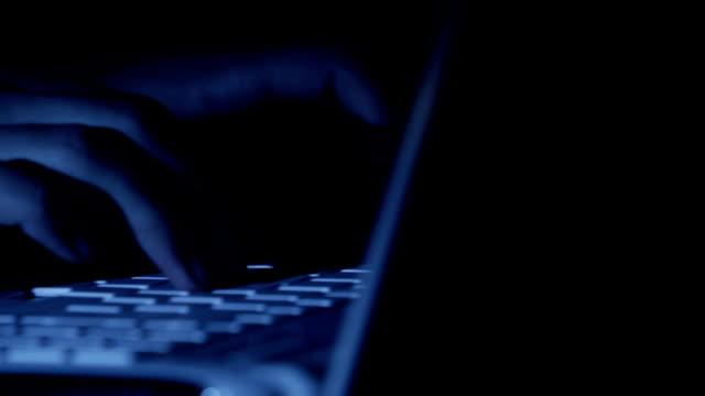 ハッカー - ワールド・ワイド・ウェブ点の映像素材/bロール