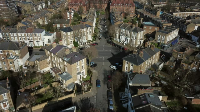 hackney aerial view - outdoors stock videos & royalty-free footage