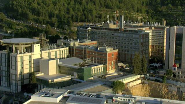 aerial hadassah medical center / jerusalem, israel - israel stock videos & royalty-free footage