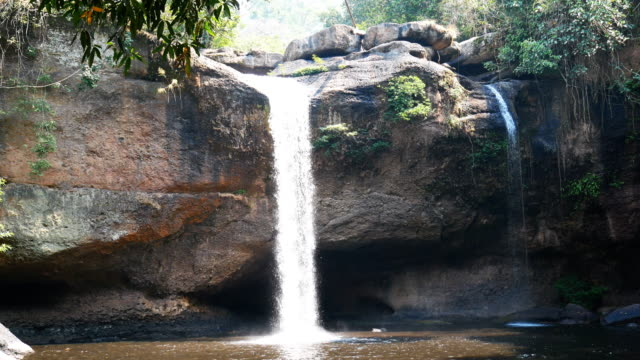 Haew suwat waterfall at khao yai national park