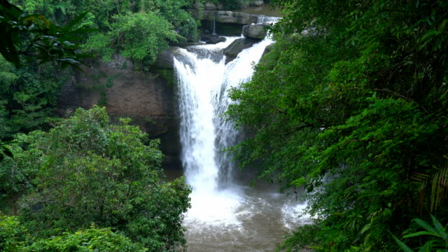 Haewsuwat Waterfall in Khaoyai National Park.