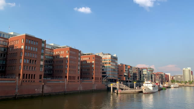 hafencity living, hamburg - leisure facilities stock videos & royalty-free footage