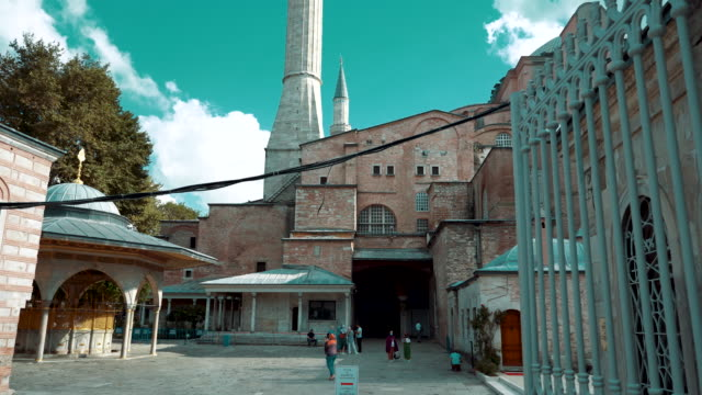 hagia sophia after converted back into a mosque in 2020 - 1934 stock videos & royalty-free footage