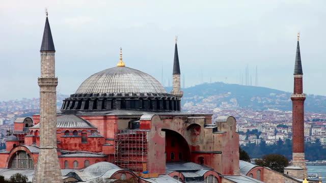 Hagia Sophia beautiful mosque in Istanbul