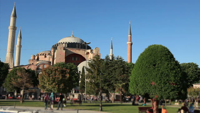 hd: hagia sophia, istanbul, turkey - 1935 stock videos & royalty-free footage