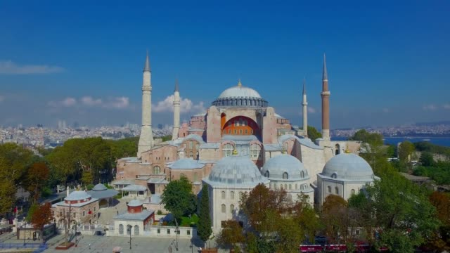 hagia sophia - minaret stock videos & royalty-free footage