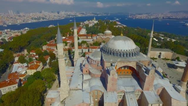 hagia sophia - byzantine stock videos & royalty-free footage