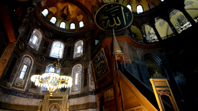 hagia sophia - hagia sophia istanbul stock videos & royalty-free footage