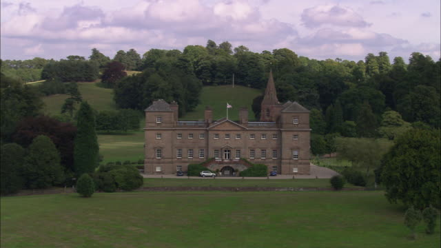 hagley hall and park - prince of wales stock videos & royalty-free footage