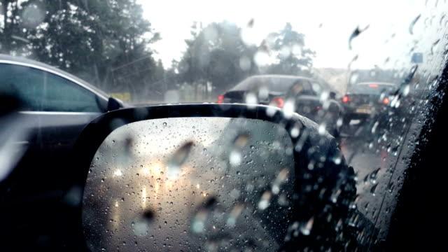 vídeos y material grabado en eventos de stock de caídas de granizo. - tormenta tiempo atmosférico