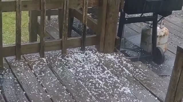 hail storms from pea-sized to golf-sized were reported in various areas of southeastern north carolina on friday morning. a storm hits the state with... - north carolina us state stock videos & royalty-free footage