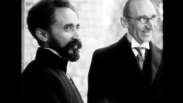 haile selassie visits auto show in adis ababa speaks with diplomats / massive radio tower telegraph office in adis ababa haile selassie tries to... - ethiopia stock videos & royalty-free footage