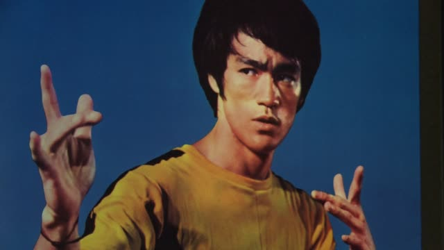 hailed as cinemas first martial arts hero and a cinematic bridge between the cultures of east and west bruce lee helped put hong kong on the movie... - china east asia stock videos & royalty-free footage