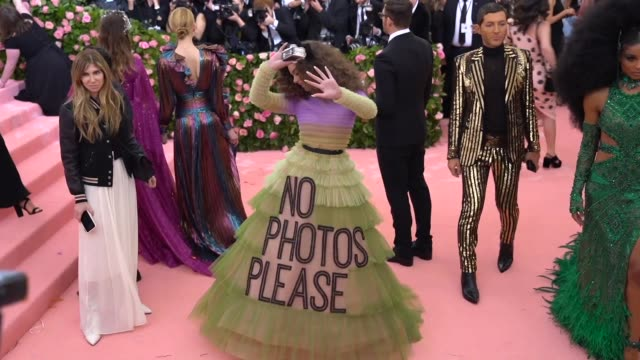 Hailee Steinfeld at The 2019 Met Gala Celebrating Camp Notes on Fashion Arrivals at Metropolitan Museum of Art on May 06 2019 in New York City