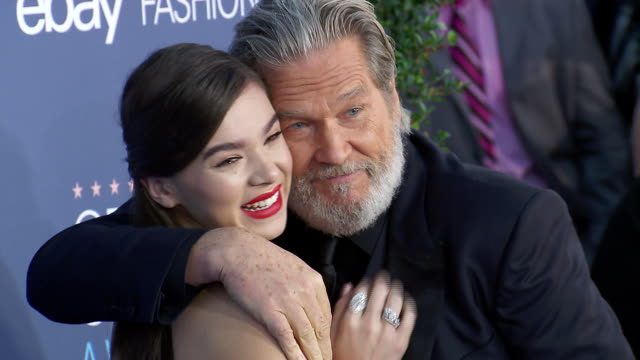 Hailee Steinfeld Jeff Bridges at 22nd Annual Critics' Choice Awards in Los Angeles CA
