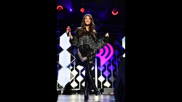 Hailee Steinfeld performs onstage during 1027 KIIS FM's Jingle Ball 2018 Presented by Capital One at The Forum on November 30 2018 in Inglewood...