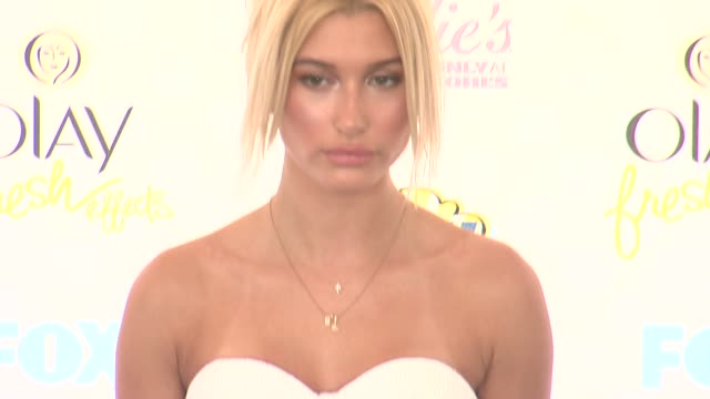 Hailey Baldwin at the Teen Choice Awards 2014 at The Shrine Auditorium on August 10 2014 in Los Angeles California
