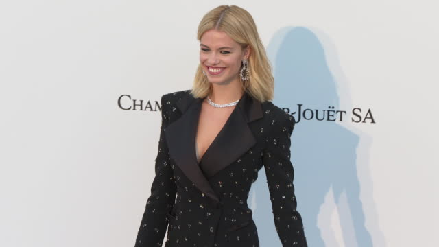 Hailey Clauson at the amfAR Cannes Gala 2019 Arrivals at Hotel du CapEdenRoc on May 23 2019 in Cap d'Antibes France