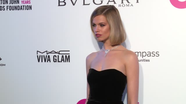 Hailey Clauson at the Elton John AIDS Foundation Presents the 26th Annual Academy Awards Viewing Party on March 04 2018 in West Hollywood California