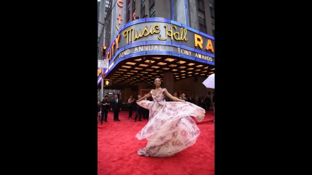 Hailey Kilgore attends the 72nd Annual Tony Awards at Radio City Music Hall on June 10 2018 in New York City