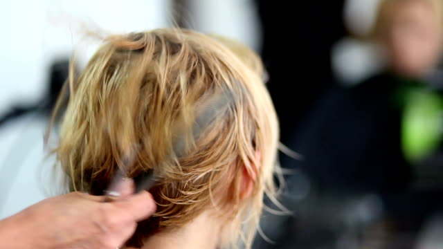 hair cut - human hair stock videos & royalty-free footage