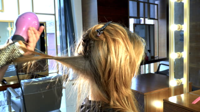 hair drying - tangled stock videos & royalty-free footage