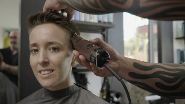 hair salon - customer stock videos & royalty-free footage