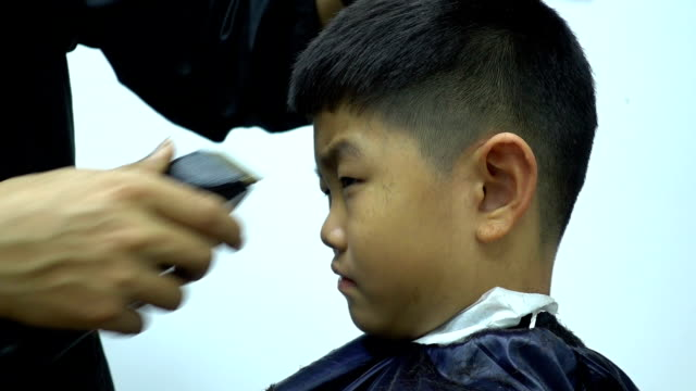 World S Best Boy S Haircut Stock Video Clips And Footage