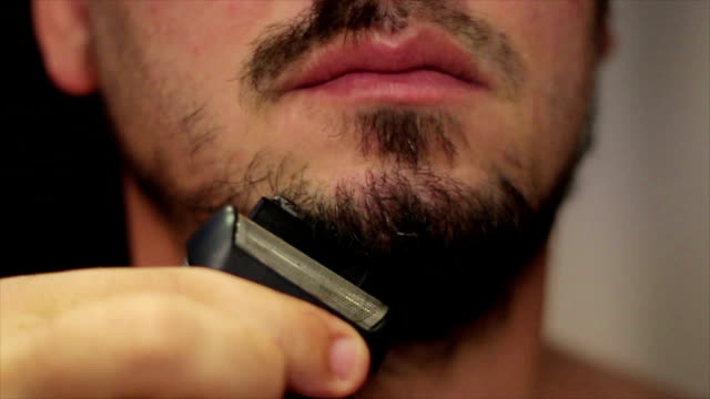 haircut - beard stock videos & royalty-free footage