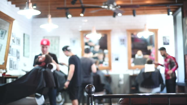 hairdressers workers - beauty salon stock videos and b-roll footage