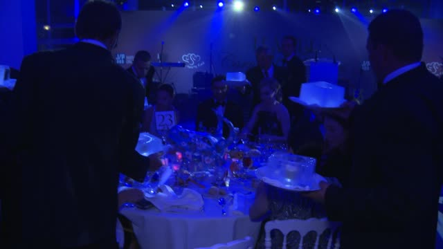 haiti carnival in cannes gala dinner on may 21 2012 in france - gala stock videos & royalty-free footage