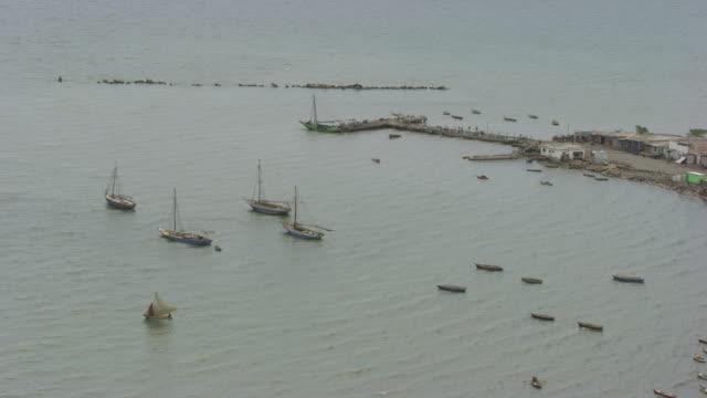 vídeos y material grabado en eventos de stock de haiti: cityscape of port-au-prince - hispaniola