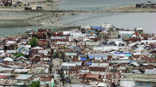 haiti: cityscape of port-au-prince - haiti stock videos & royalty-free footage