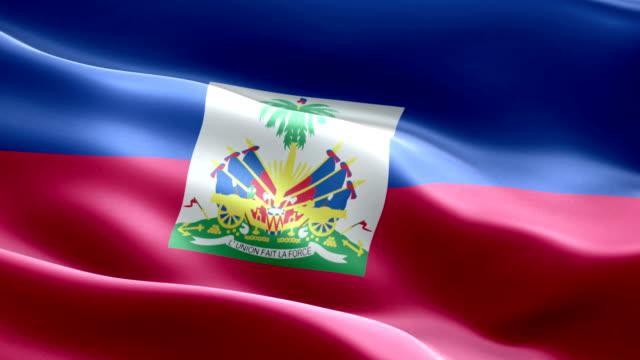 haiti flag - flag haiti stock videos & royalty-free footage