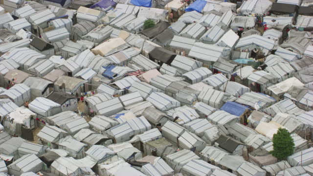 haiti: sun city, shanty town - exile stock videos & royalty-free footage