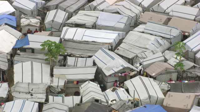 haiti: sun city, shanty town - refugee camp stock videos & royalty-free footage