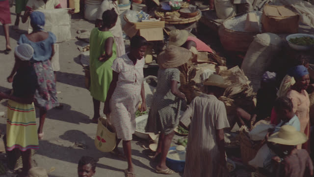 haiti tin roof town - haiti stock videos & royalty-free footage