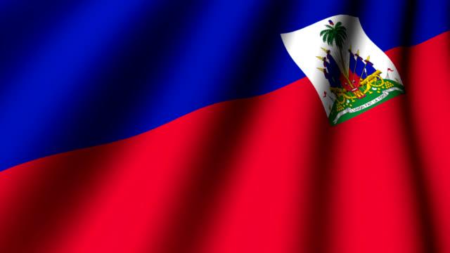 haiti - flag haiti stock videos & royalty-free footage